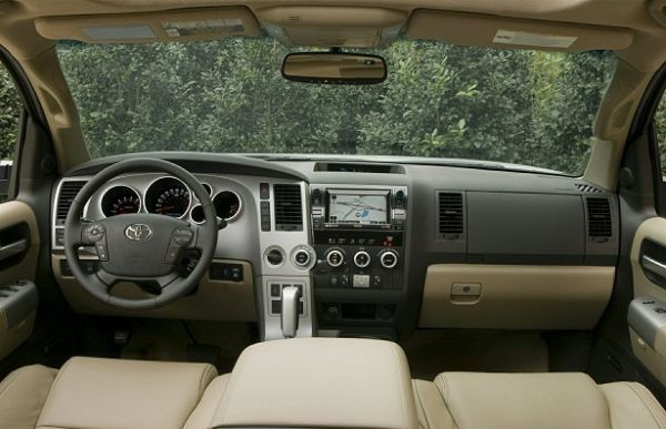2015 Toyota - Sequoia Interior
