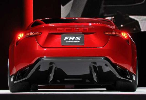 2016 Scion FR-S - Rear View