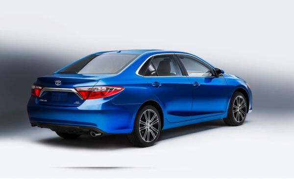 2016 Toyota Camry - Rear View