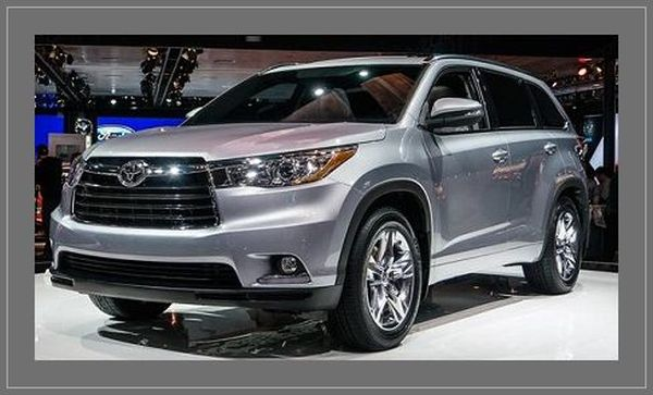 2016 toyota highlander hybrid price release date specs. Black Bedroom Furniture Sets. Home Design Ideas