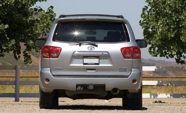 Rear View of 2015 - Toyota Sequoia
