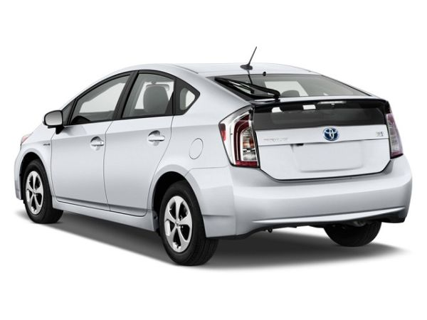 Rear View of 2016 Toyota - Prius