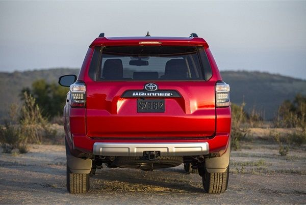 Rear View of 2017 - Toyota 4runner